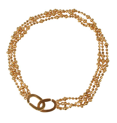 Gold Chain Bracelet by Mitos