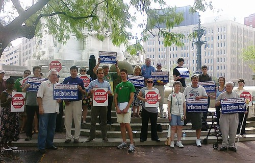 MoveOn Rally - Indianapolis, Ind.