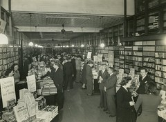Interior of Angus & Robertson booksellers, Castlereagh Street, Sydney, 1946 / photographer Bradford Pty Ltd