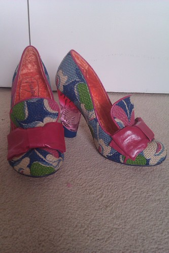 Shoes number 31: Irregular Choice Oz shoes