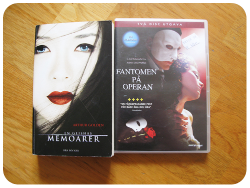 En Geishas Memoarer + Phantom of the Opera
