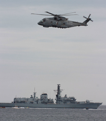 Merlin and HMS Westminster