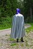 Silver-purple (Rainhood) Tags: plastic cape hood rainwear pvc kapuze regencape