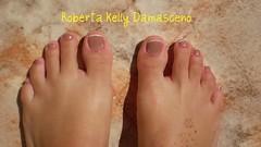 Tô bege, tô bege, tô NUDE!!! nos pés tb... (Roberta Kelly Damasceno) Tags: nude nails risque unha florzinha esmalte francesinha jóiasmísticas citrinonude flôrnaunha cintilânte