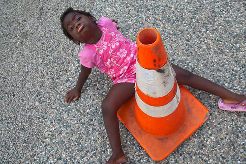 Orange Safety Cone Lourdie August 02, 20107