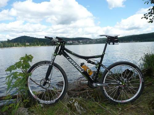 Mi bicicleta Cannondale esperando tema de garantía