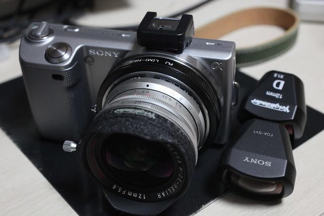 sony nex fda-sv1 voigtlander viewfinder