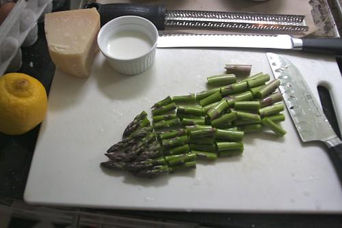 asparagus chop