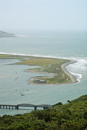 Barmouth Railway Bridge and the Mouth Of The Mawddach