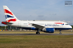 G-EUNB - 4039 - British Airways - Airbus A318-112 - 100724 - Farnborough - Steven Gray - IMG_9038