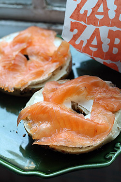 zabars bagels and lox