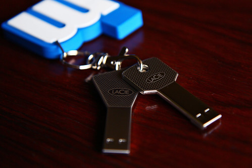 LaCie iamaKey 4GB USB Flash Key