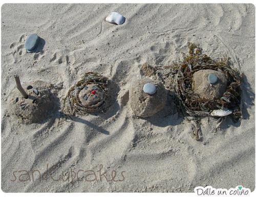Madalenas de area / SandCupcakes