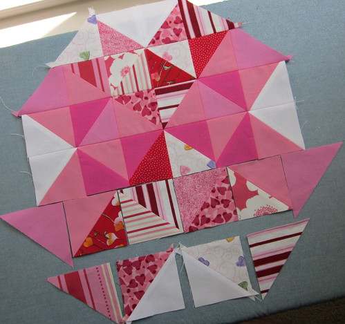 4 of Hearts Block - Step 3