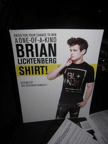 brian lichtenberg forever 21 party DIY tshirt station