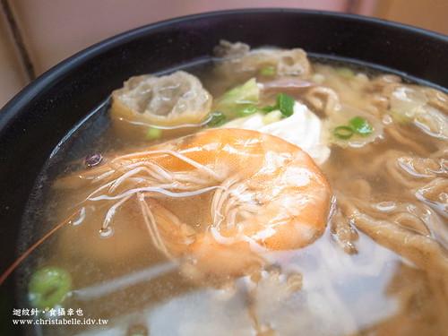小豆豆鍋燒意麵蝦