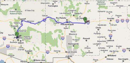 PHX to Santa Rosa