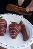 Chocolate-Dipped Bacon and Strawberries (Daveography.ca) Tags: bacon strawberry edmonton chocolate alberta chocolatedipped strathconacounty tomatofare