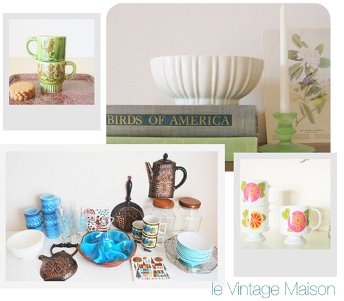 Etsy Take Five Tuesday: Vintage/Modern