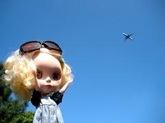 zoom! a plane!