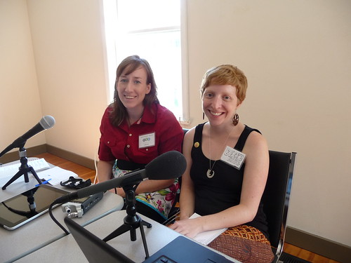 Podcasting Session with Jennifer Ackerman-Haywood and Becky Stern