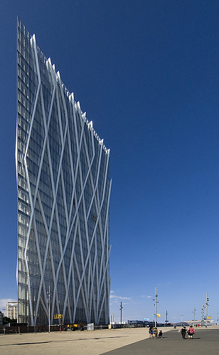 Diagonal Zero Zero Building, Barcelona, Spain