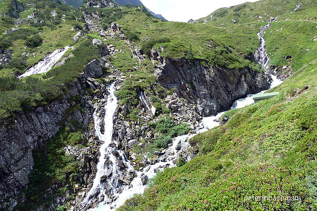Hiking in the alps - The Stubai Valley