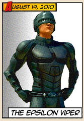PlayStation Home Superhero costumes: Epsilon Viper