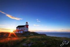 "Lighthouse (gwhiteway) Tags: lighthouse canada sunrise newfoundland ferryland colorphotoaward ""flickraward"" mygearandmepremium mygearandmebronze"