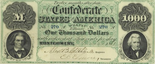 Confederate Montgomery $1,000