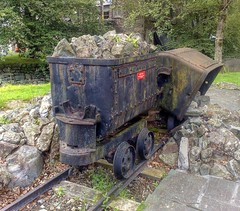 Glenridding Ullswater Cumbria (woodytyke) Tags: county uk england mountain lake west green english industry tourism rock stone wagon photography photo scenery iron mine britain district united great north lakes kingdom tip cumbria fells mineral british visitor eastern lead ore lakeland isles touring cumberland sleeper tipping galena ullswater glenridding railtrack westmorland woodytyke