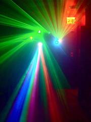 exit (redjoe) Tags: light shadow urban music man boyfriend colors sign club night lights washingtondc dc dance dancing lasers exit shaw beams redjoe lightmachine joehorvath efnlounge
