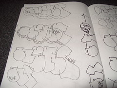 throwies part 2 (Nerfoner_13) Tags: graffiti peace leno vents blackbook voe nerfoner voeone
