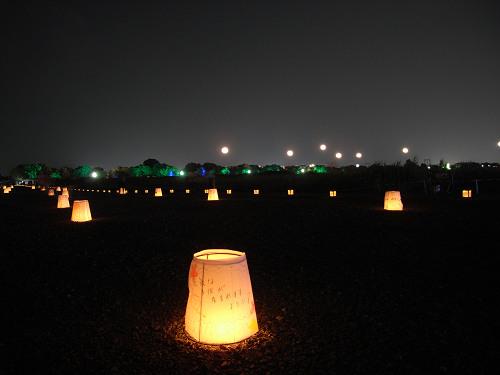 平城宮跡夏季フェア「光と灯りのフェア」-23