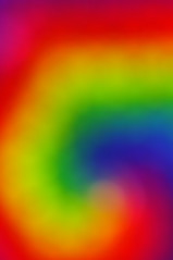 Sometimes a blur is a good thing (Dirgnie) Tags: pink blue orange macro green yellow rainbow nikon purple circles round d300 105mm strijkkralen ironingbeads