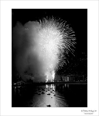 {Explore. August 21, 2010} Fireworks (n&s I Photography) Tags: street city light sea sky blackandwhite bw white seascape black cute art love water night d50 landscape noche boat mar photo calle spain nikon arte fireworks live space air negro ciudad paisaje we reflect cielo basque donostia espacio sansebastin nahikarisergio