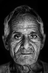 Fearless! (2k Photography) Tags: old portrait man love lines affection human age experience stare gaze fearless 2k beholding ~2|{~ pushpdeeppandey