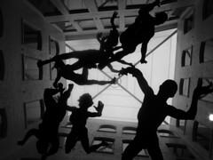 Inside the Zellig Building (preynolds) Tags: sculpture silhouette factory custard zellig