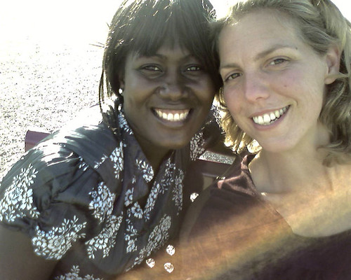 Plan management trainee, nancy from Ghana and me