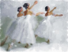 Ballet dancers (piker77) Tags: ballet woman painterly art beauty digital photoshop watercolor painting nice interesting media pretty natural aquarelle digitale manipulation simulation dancer peinture illusion virtual watercolour transparent acuarela tablet technique wacom stylized pintura portre imitation  aquarela aquarell emulation malerei pittura virtuale virtuel naturalmedia bildnis    piker77wc arthystorybrush