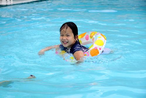 fcc ice cream social, pool time