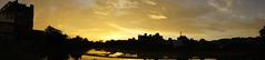 """夕陽 sunset (ddsnet) Tags: sony α nex5 nex mirrorless newemountexperience 天空 雲彩 sky cloud 日出 日落 sunrise sunset 太陽 sun 夕陽 晚霞 photomerge 寬景圖 全景攝影 sweeppanorama スイングパノラマ 朝霞 new emount experience sweep panorama sweeppanoramaスイングパノラマ """"sweep panorama"""""""