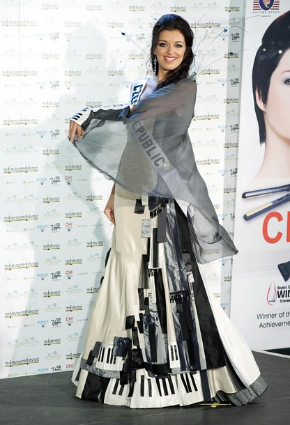 National Costume of Miss Czech Republic
