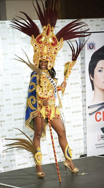 National Costume of Miss Nicaragua