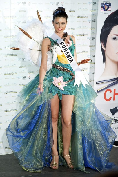 National Costume of Miss Romania