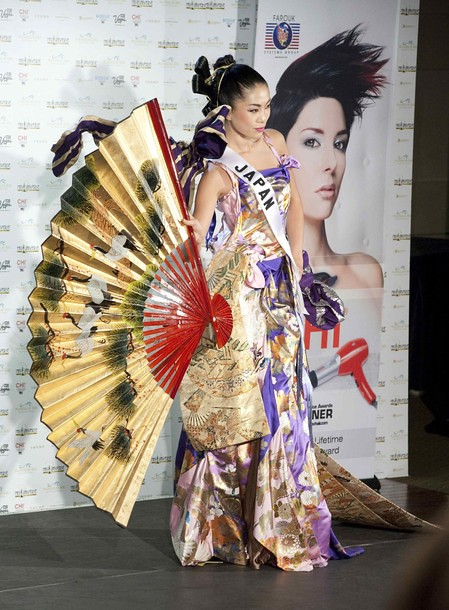 National Costume of Miss Japan