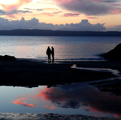 romance (neil1877) Tags: sunset skye beach scotland nikon explore arisaig camusdarach d90 explorefrontpage