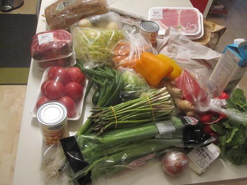 Groceries from marché Maisonneuve - $62