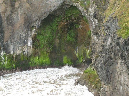 Cave at carrick-a-rede