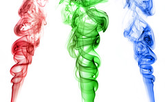 | Primary Colors | (SOBPhotography) Tags: smoke swirl incense smokeart
